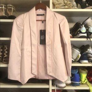 NWT Haoduoyi cape blazer